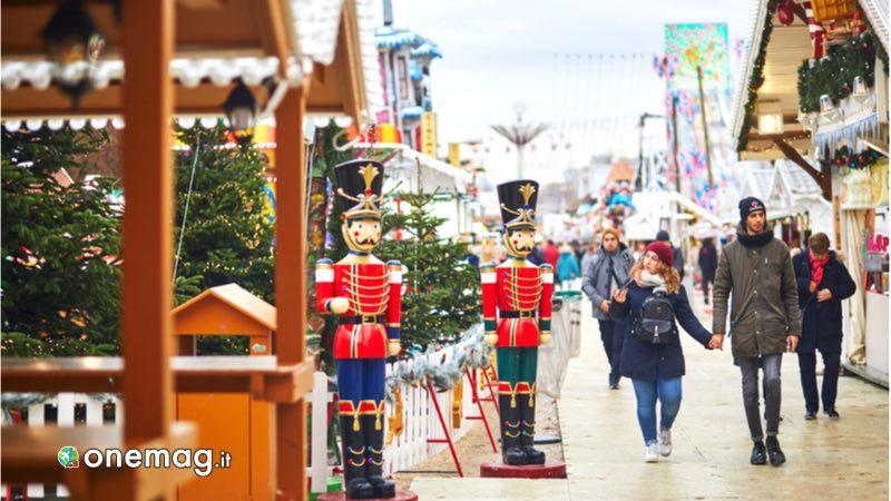 Parigi, mercatino di Natale