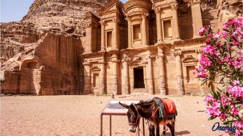 Viaggio a Petra, Giordania
