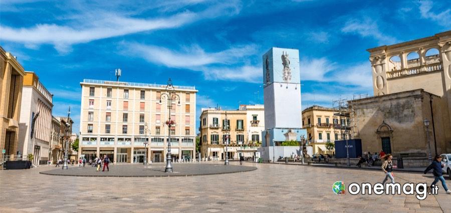 Visitare Lecce: Piazza Sant'Oronzo