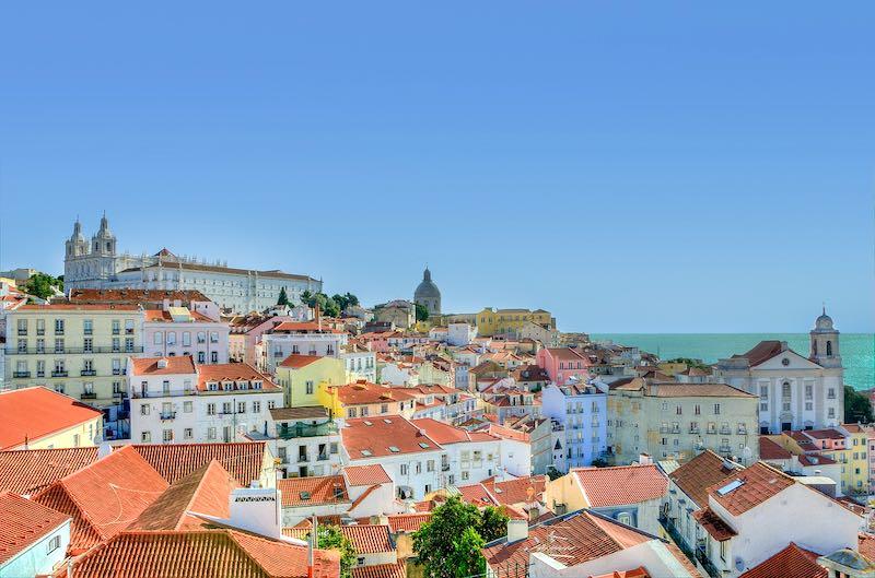 Portogallo, quartiere Alfama