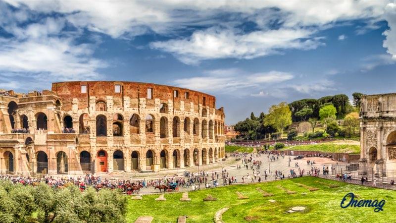 Roma nel Ponte di Ognissanti