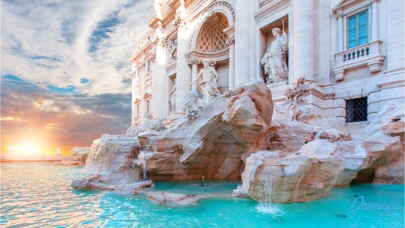 Viaggio a Roma, la Fontana di Trevi