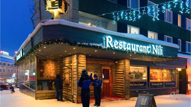 Rovaniemi, ristorante