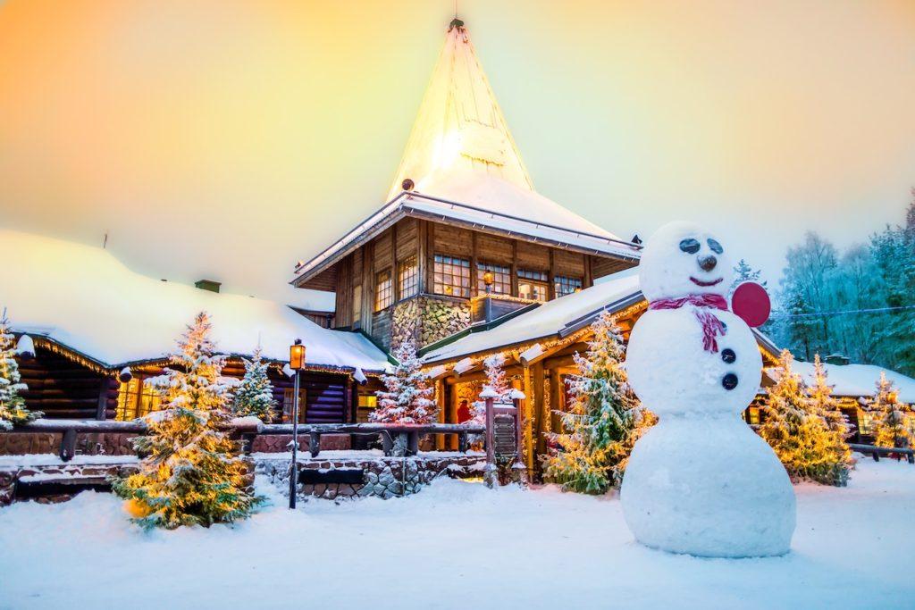Dove Si Trova Ora Babbo Natale.Guida Turistica Di Rovaniemi Finlandia La Citta Di Babbo Natale