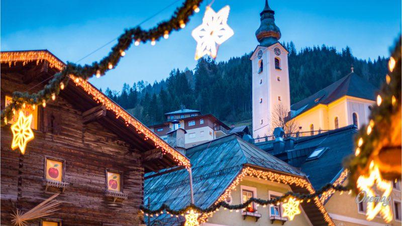 Salisburgo. mercatino di Natale