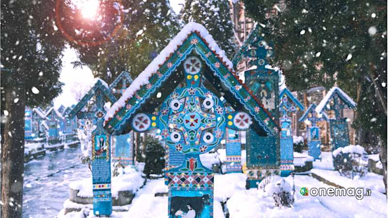Sapanta, cimitero allegro