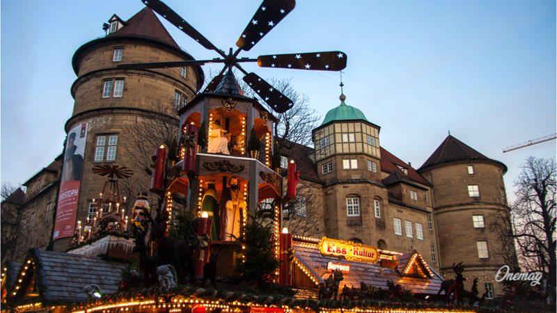 Mercatino di Natale a Stoccarda