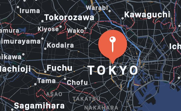 Cosa vedere a Tokyo, mappa