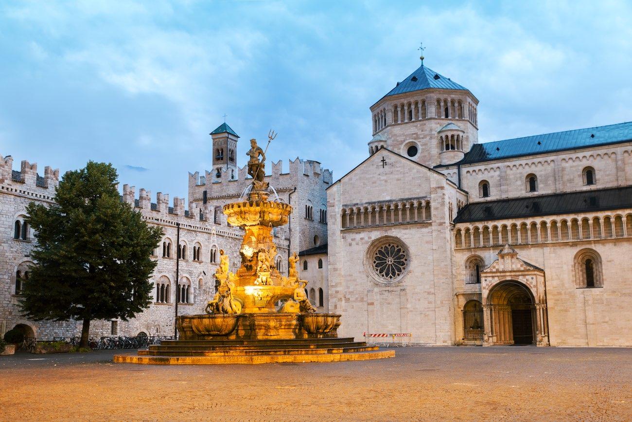 Cosa vedere a Trento, la fontana