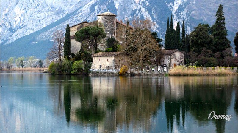 Cosa vedere a Trento, lago di Toblino