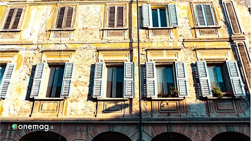 Viadana, facciata palazzo storico
