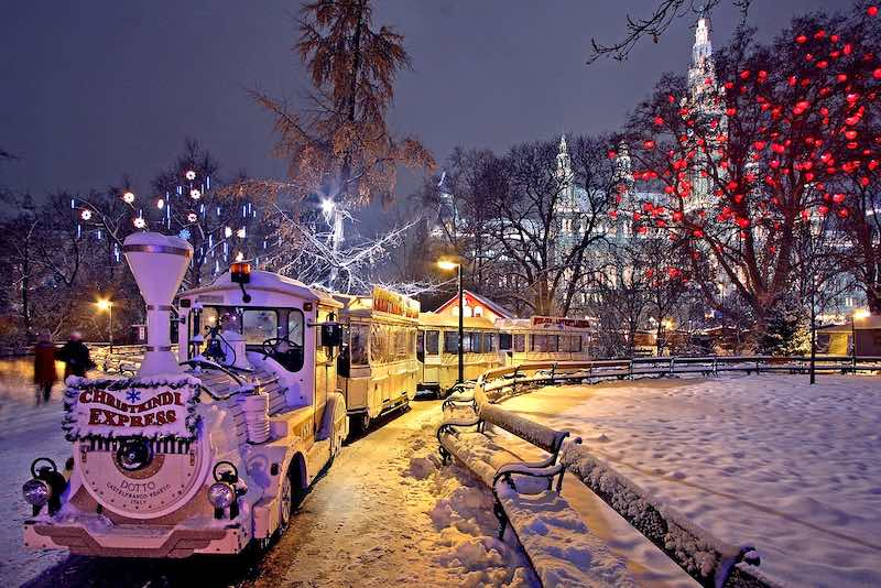 Vienna, mercatino di Natale
