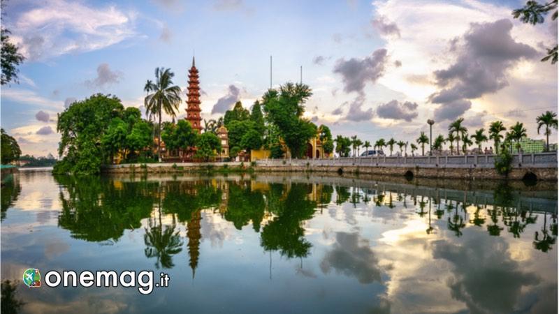 La capitale del Vietnam Hanoi