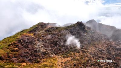 Vulcano nel Parco nazionale di Guadalupa