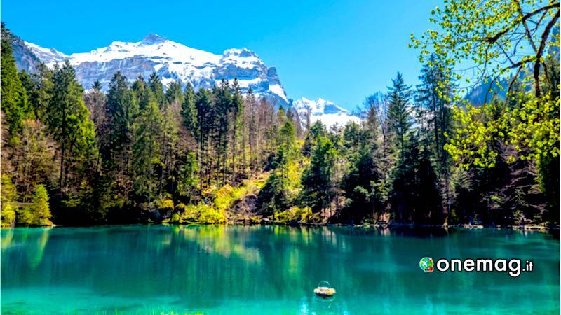 Il Blausee, veduta del lago
