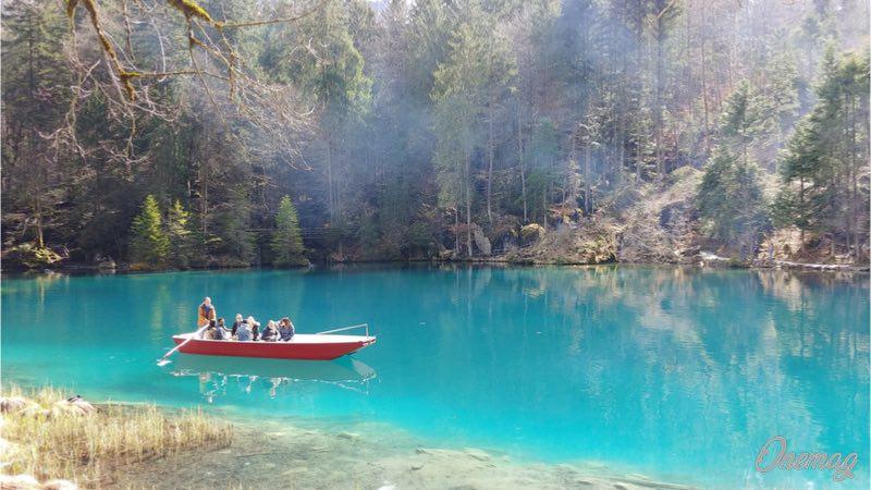 Il Blausee, cosa fare