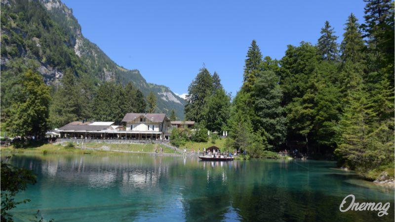 Blausee, hotel e ristorante