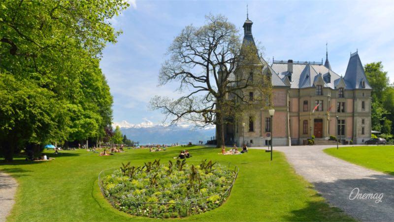 Cosa vedere a Thun, parco e castello di Schadau