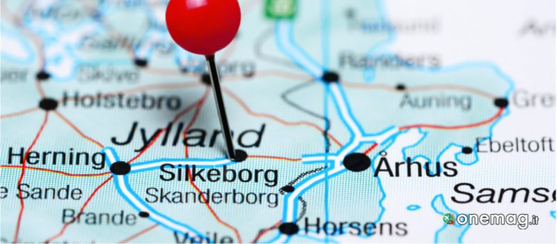 Mappa di Silkeborg