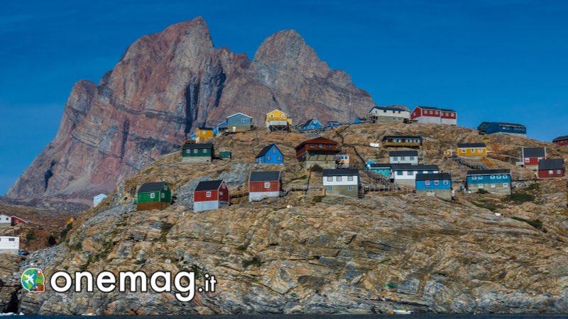 La Groenlandia, il villaggio di Uummannaq