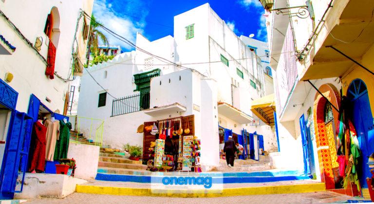 La Medina di Tangeri, una delle principali località del Marocco