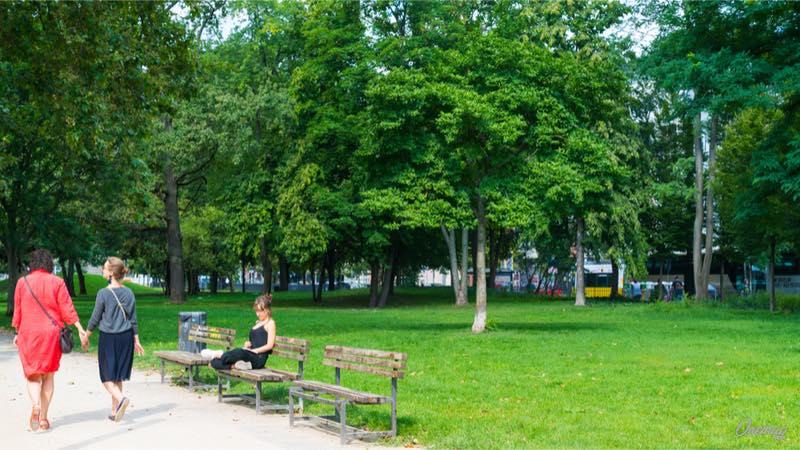 Berlino, una passeggiata nel Monbijou Park