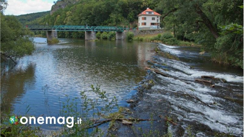 Il parco nazionale Thayatal, il fiume Thaya