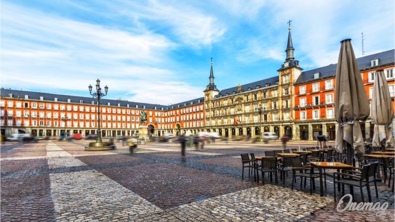 Madrid, vedere Plaza Mayor