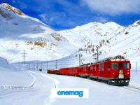 Ponte dell'Immacolata tra Italia e Svizzera a bordo del Trenino Rosso del Bernina
