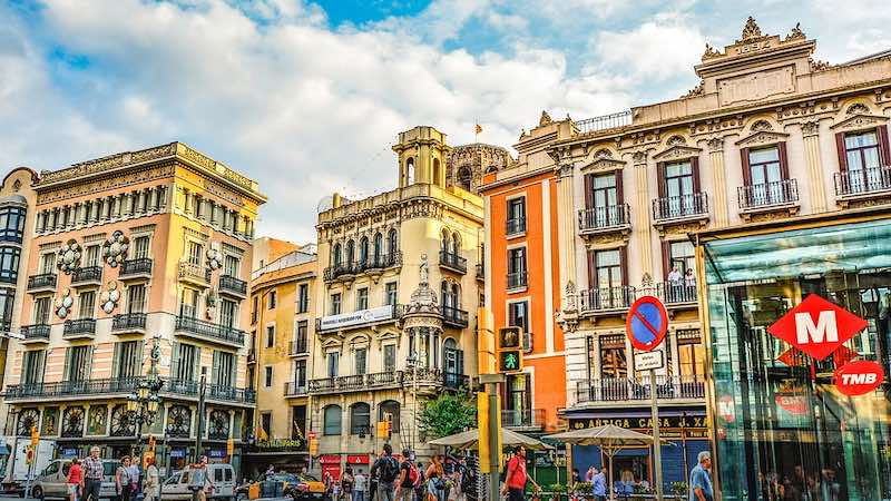 Barcellona, via Rambla