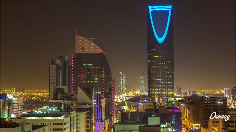 Kingdom Tower di Riyadh