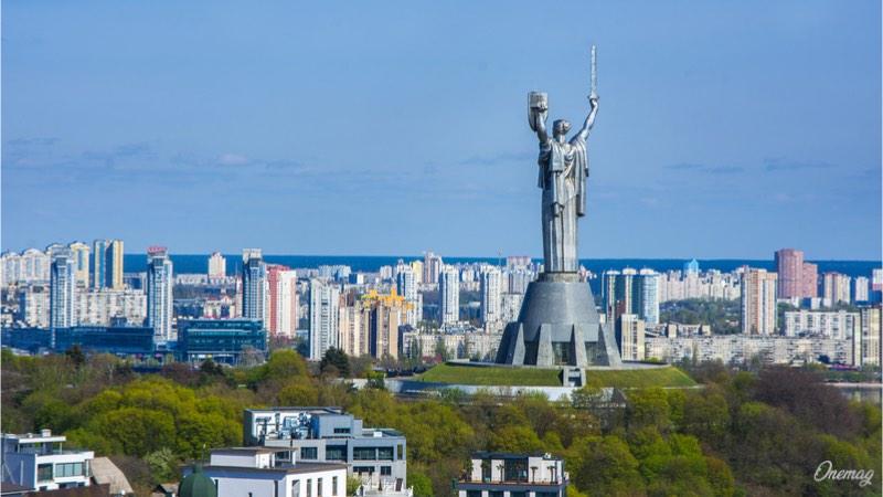 Rodina Mat, Monumento della Madre Patria, a Kiev