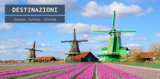 I mulini a vento di Zaanse Schans
