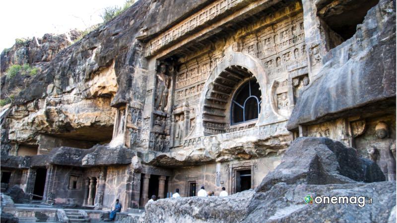 Ajanta, le grotte