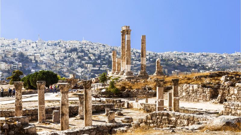 Amman, le rovine