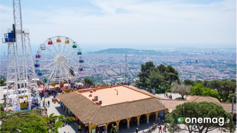 Cosa vedere a Barcellona, il Monte Tibidabo