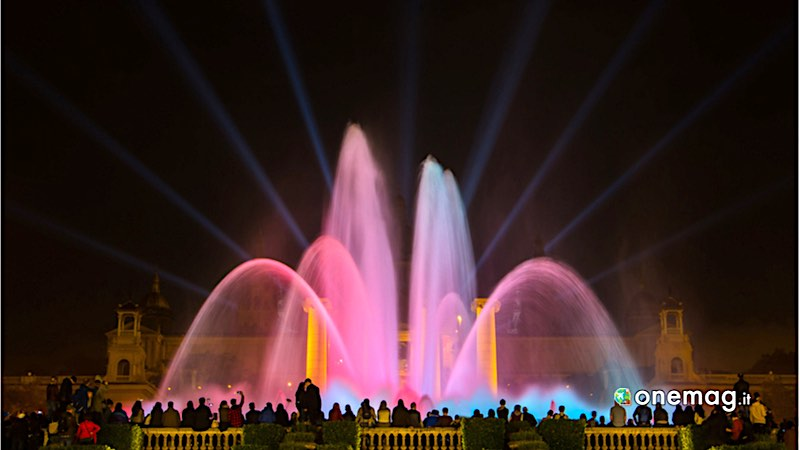 Barcellona, fontana magica