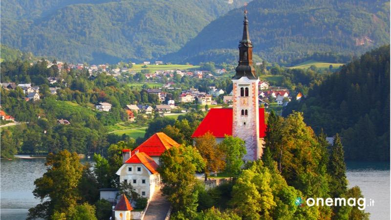 Cosa visitare a Bled, la Chiesa Santa Maria Assunta