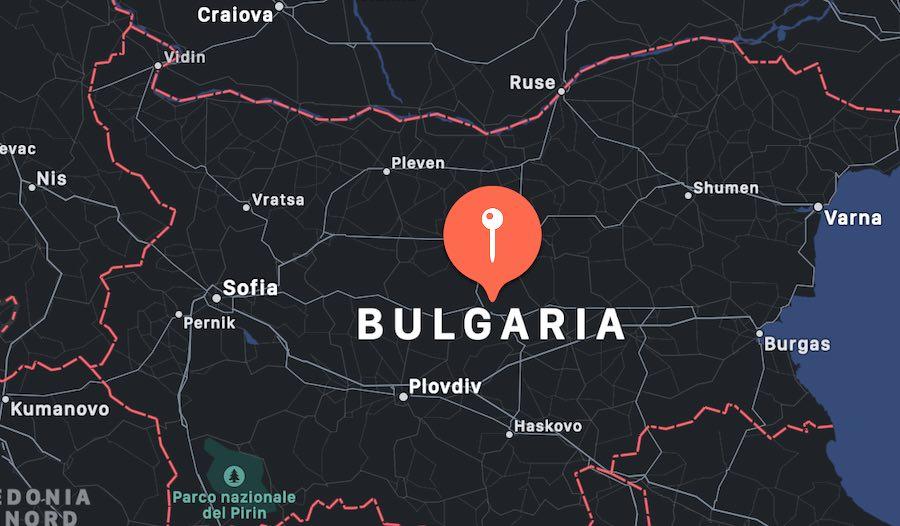 Cosa vedere in Bulgaria, mappa