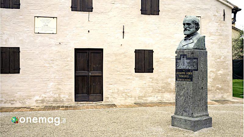 Busseto, casa natale di Verdi a Roncole Verdi