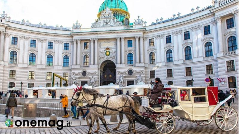 Palazzo reale a Vienna Hofburg