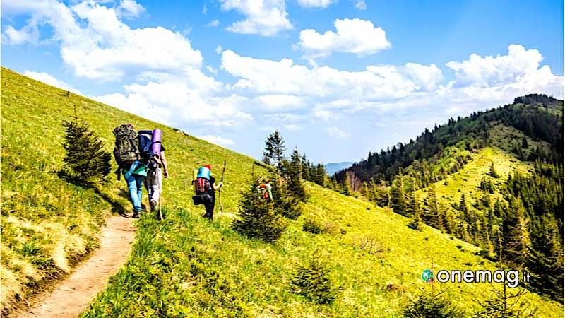 Carpazi, Trekking