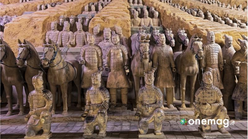Cina, i luoghi da non perdere, l'esercito di terracotta