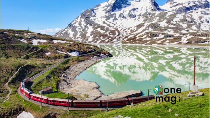 Trenino Rosso del Bernina, cosa vedere