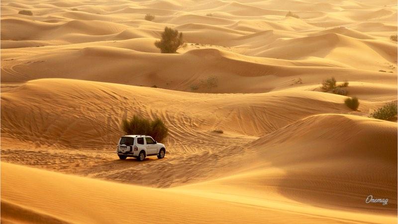 Deserto, attività sportive