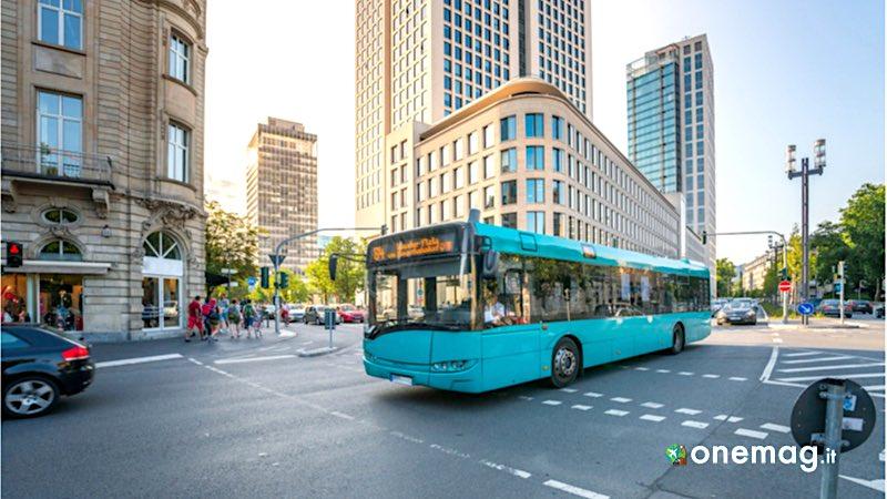 Cosa vedere a Francoforte, bus cittadino