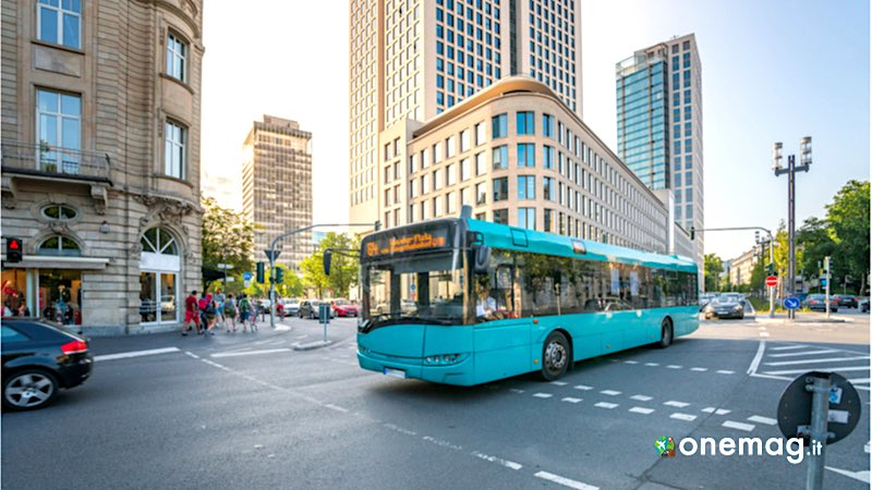 Francoforte, bus cittadino