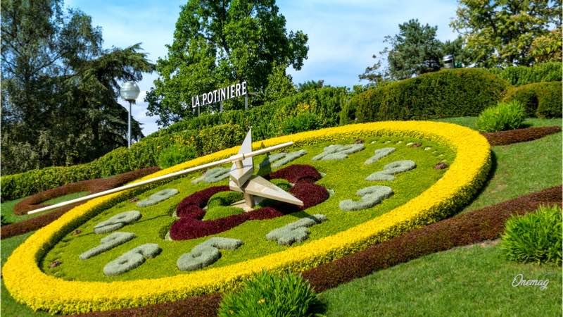 Cosa vedere a Ginevra, Jardin Anglais e l'Horloge Fleurie