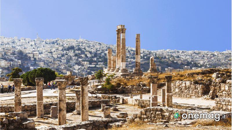 Teatro Romano della capitale Amman, Giordania