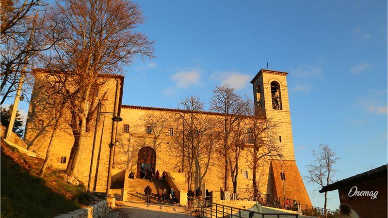 Cosa vedere a Gubbio, Basilica di Sant'Ubaldo